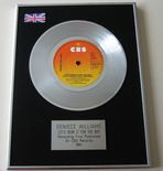 DENIECE WILLIAMS - LET'S HEAR IT FOR THE BOYS PLATINUM Single Presentation DISC